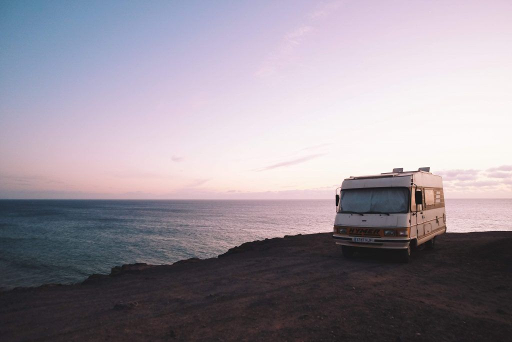 Dry camping - camping with a non-hooked RV or Van in the wild