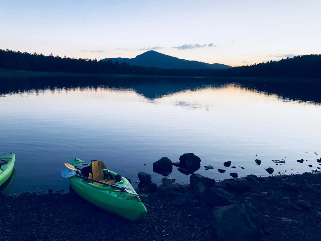 Kayak camping is a great camping type for those who love water