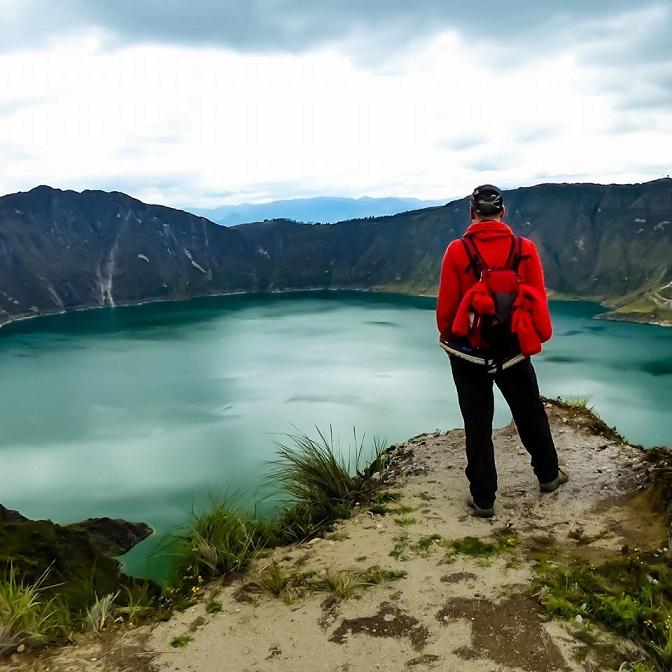 Lake Quilotoa, Ecuador