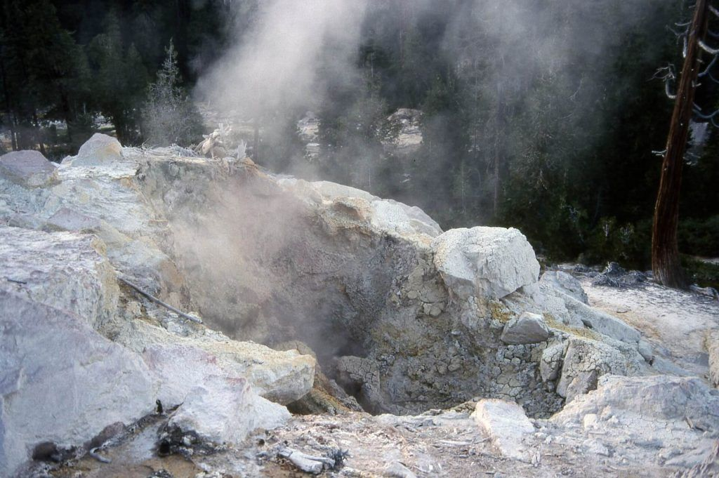 Hydrothermal Activities at Lassen