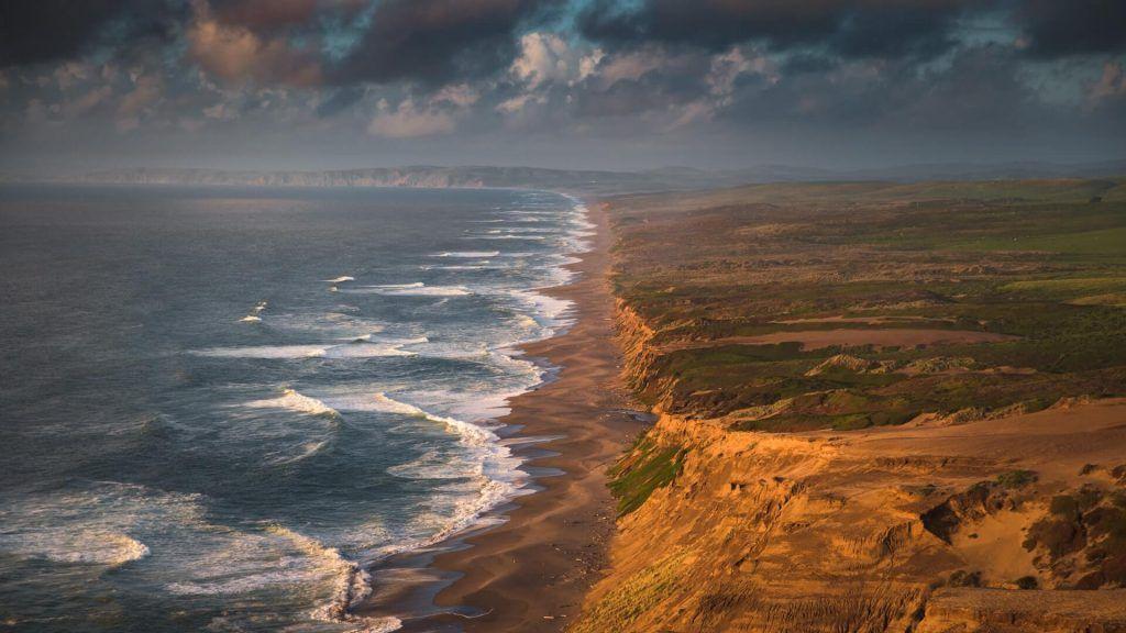 Point Reyes National Seashore-ocean meets land