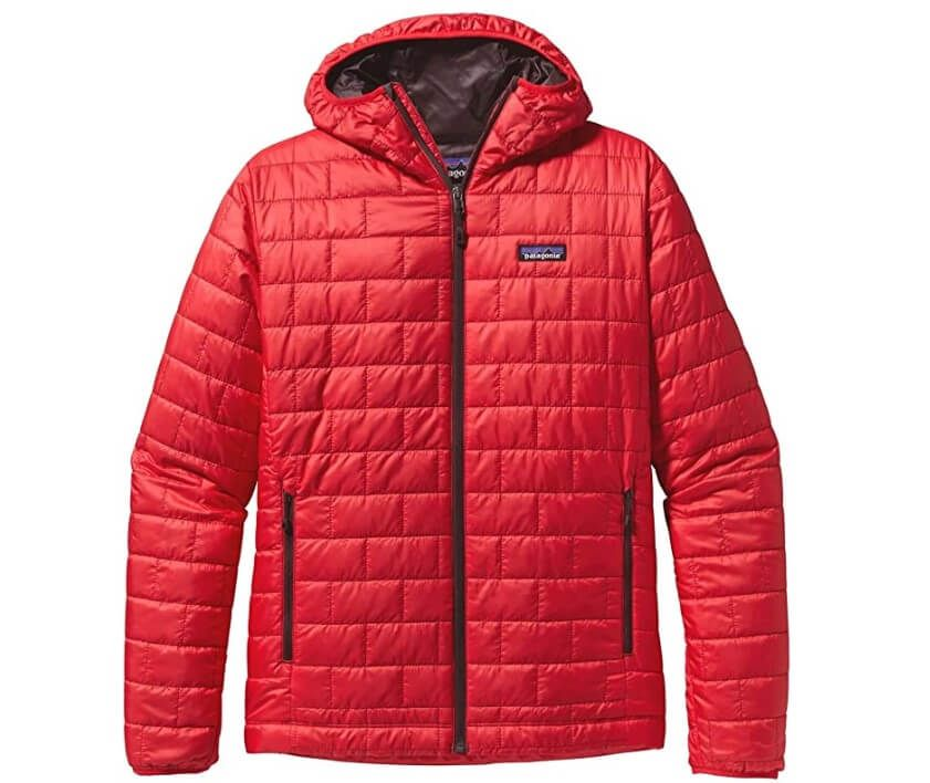 Patagonia Nano Puff Hoody In Red
