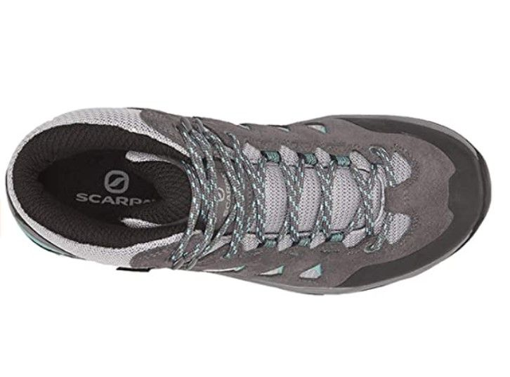 Scarpa Moraine GTX Mid Hiking shoes Dark Grey from the top