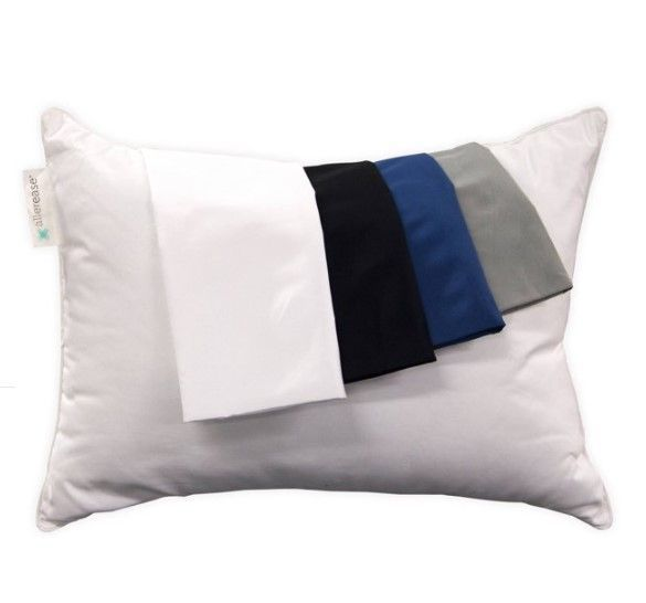 allerease zippered travel pillow protector
