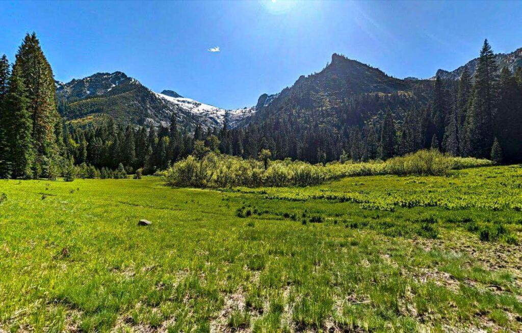 Stuart Fork Trail