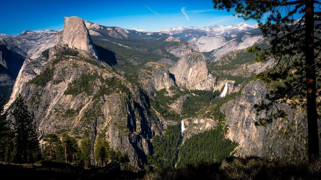glacier point trail