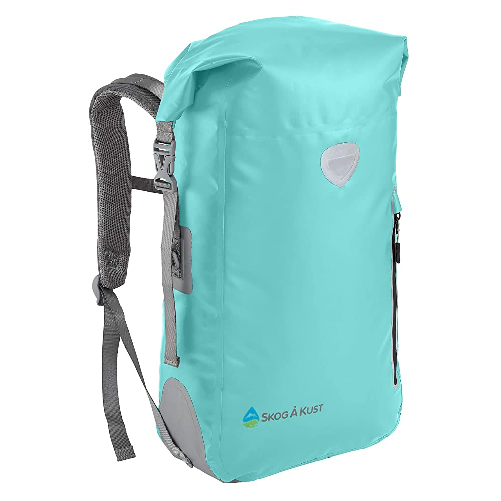 Skog Å Kust BackSåk Waterproof Floating Backpack With Exterior Zippered Pocket (25 Liter)