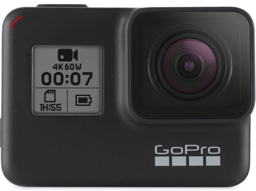 gift ideas for hikers-go pro camera