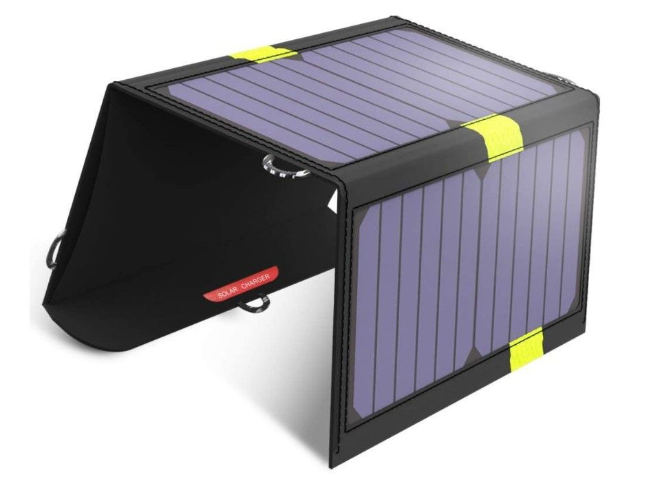 gifts for hikers-portable solar chargers