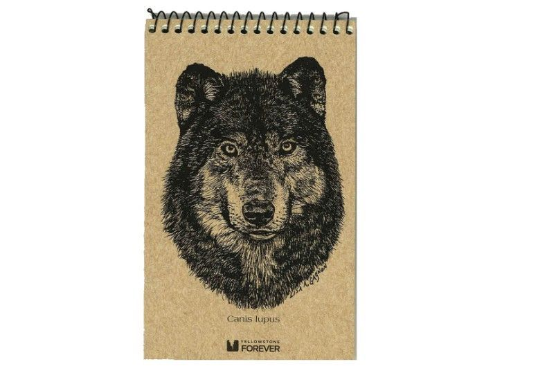 A Beautiful Hiking Journal From the Yellowstone Gift Shop