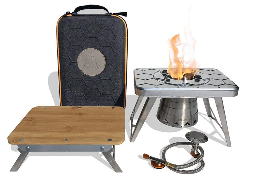 nCamp Multi-Fuel Camping Stove