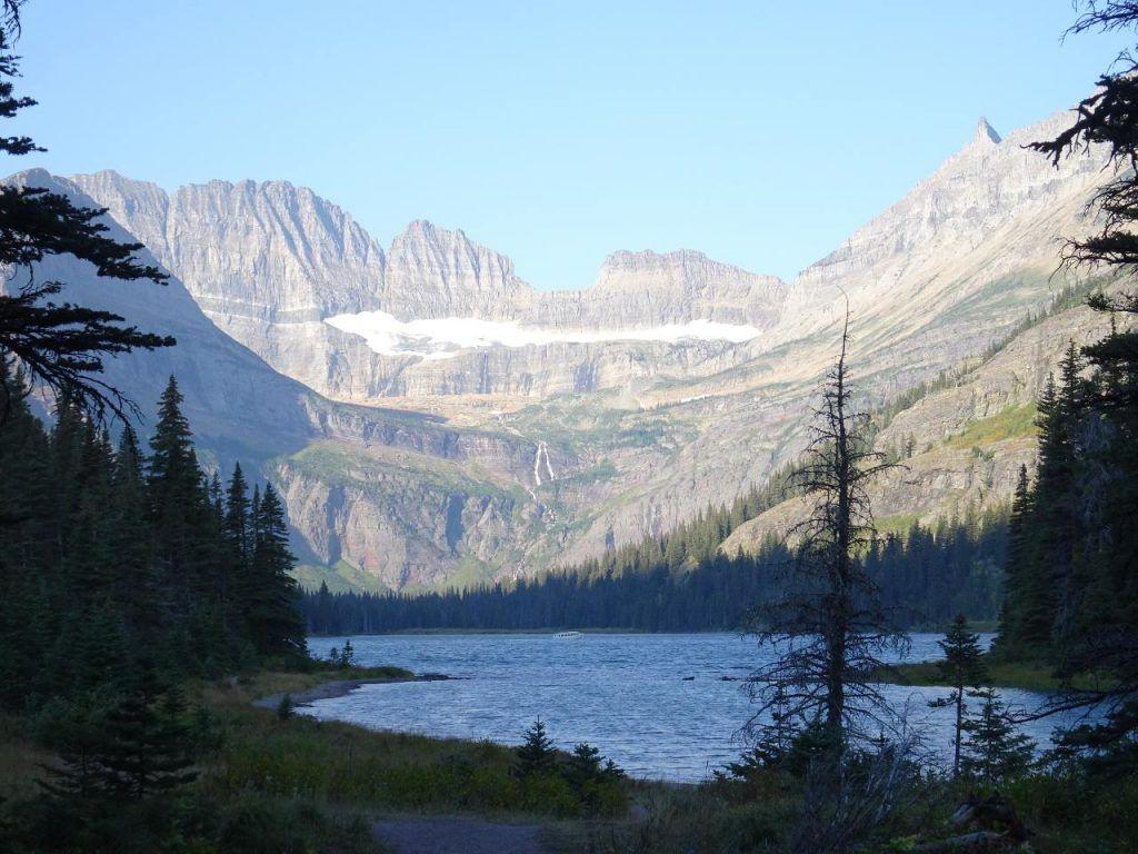 Camping in Glacier National Park-stunning landscape