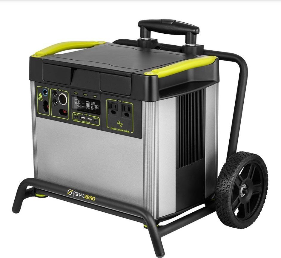 best portable power stations for camping-goal zero yeti 3000x