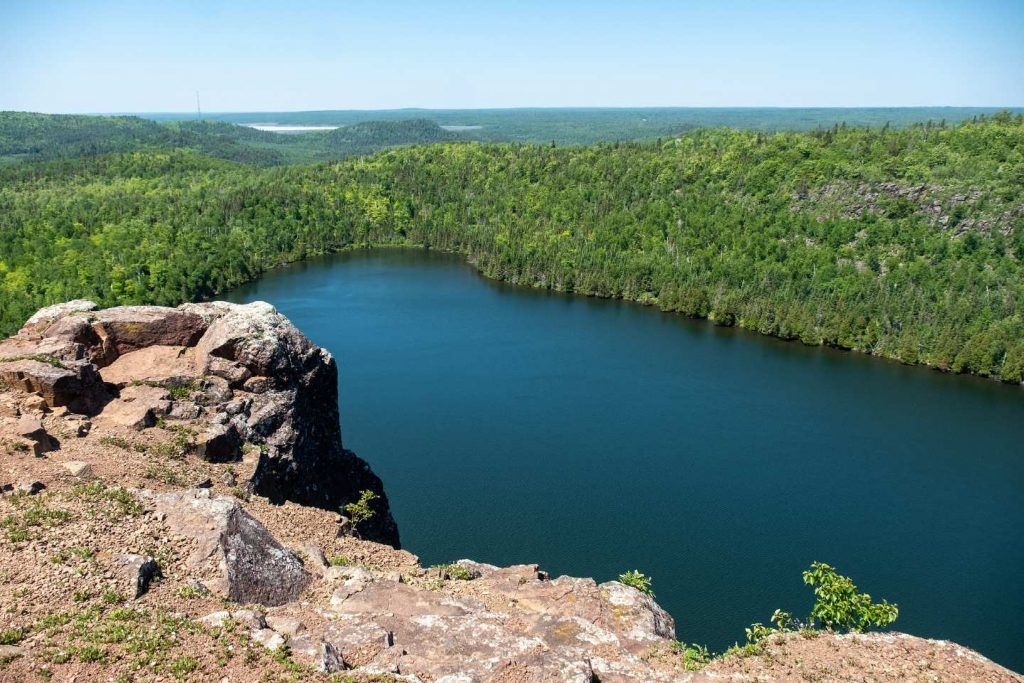 camping in minnesota-superior hiking trail