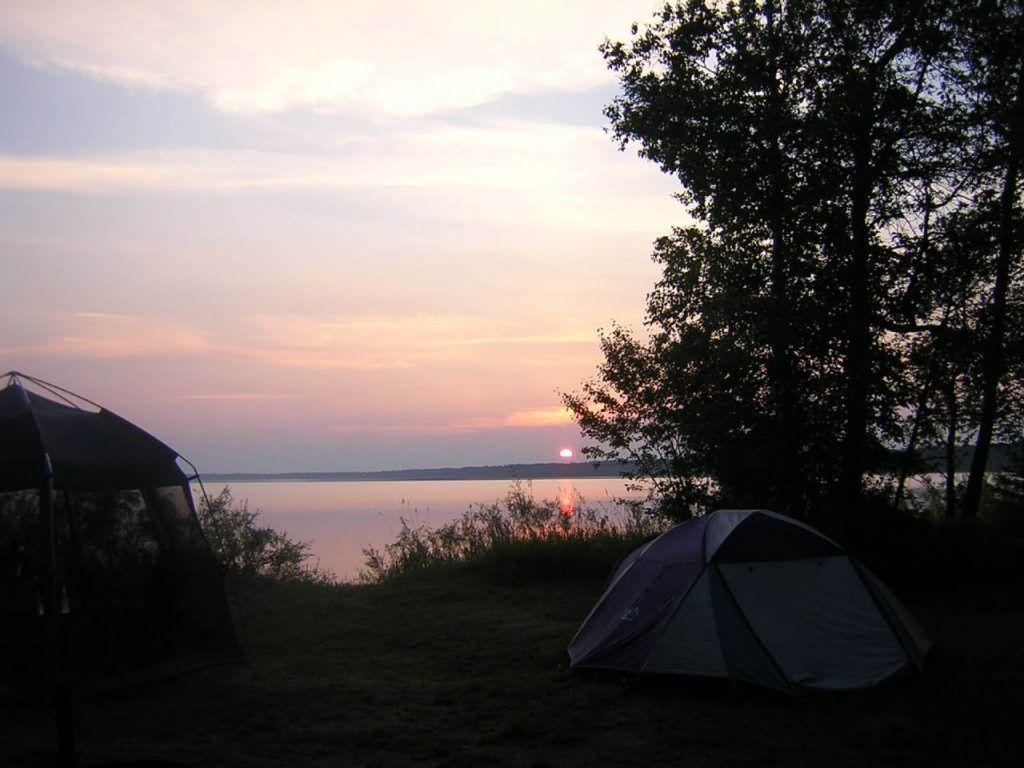 camping in minnesota-cass lake