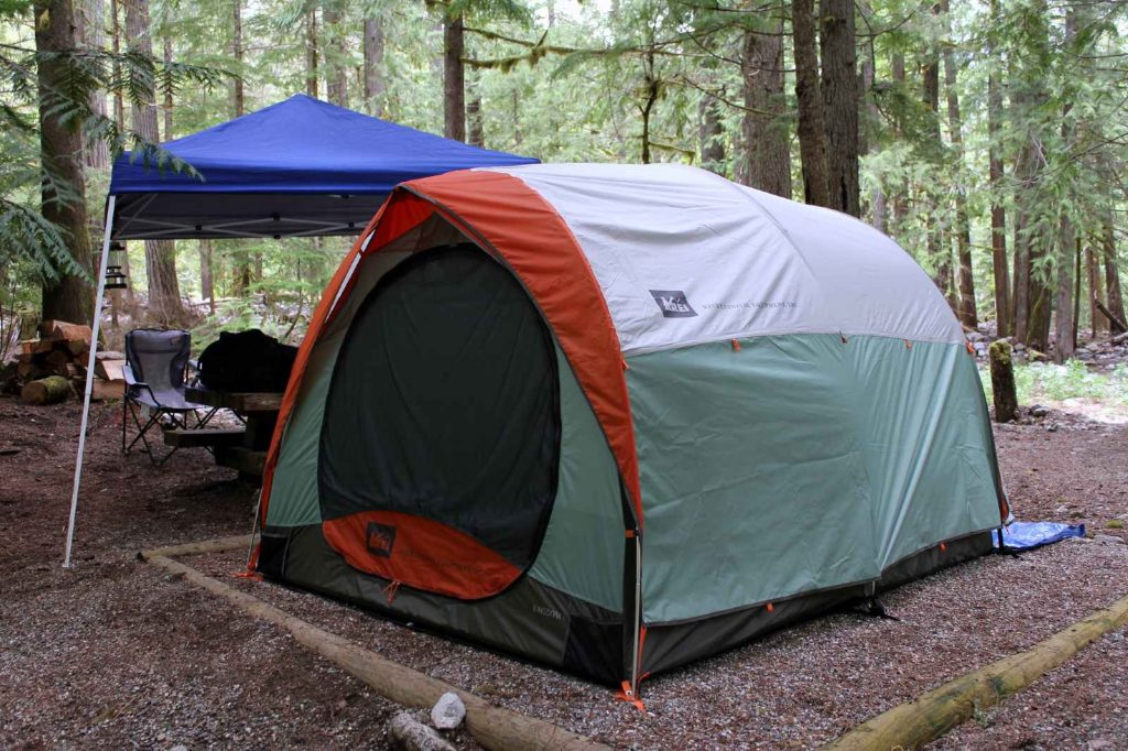 camping in north cascades national park-colonial creek campground