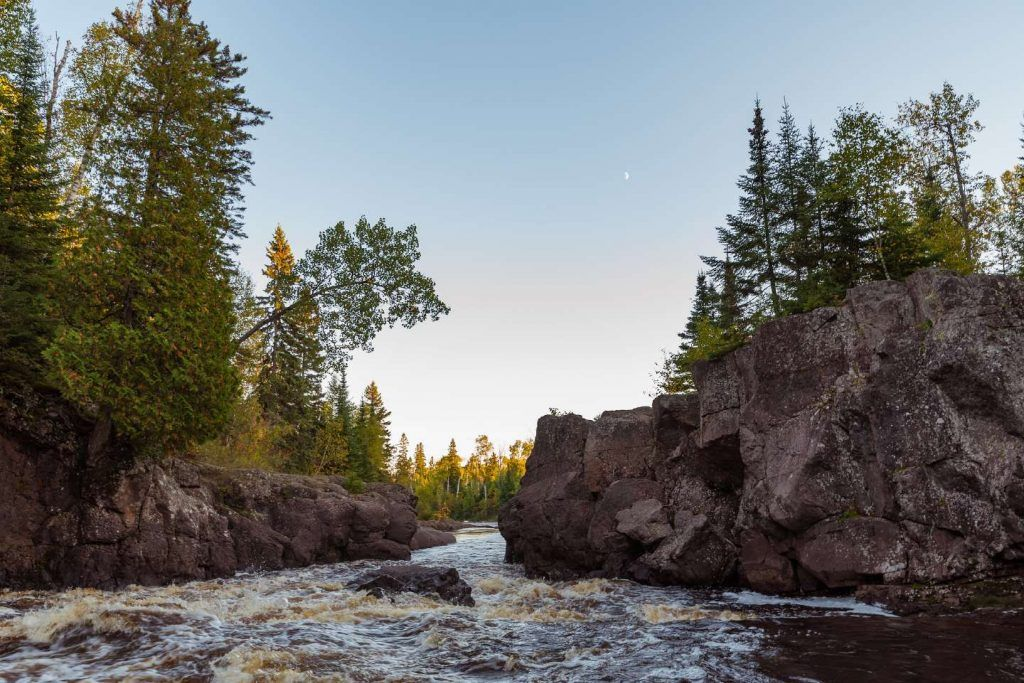 camping in minnesota-temperance river state park