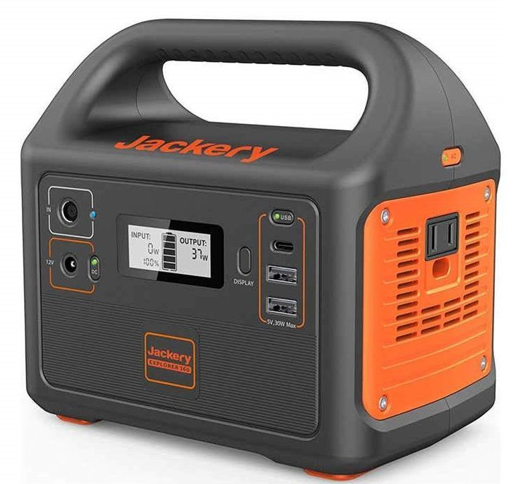 portable camping power supply review - goal zero yeti 150 vs jackery explorer 160
