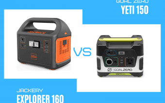 Review: Goal Zero Yeti 150 vs Jackery Explorer 160