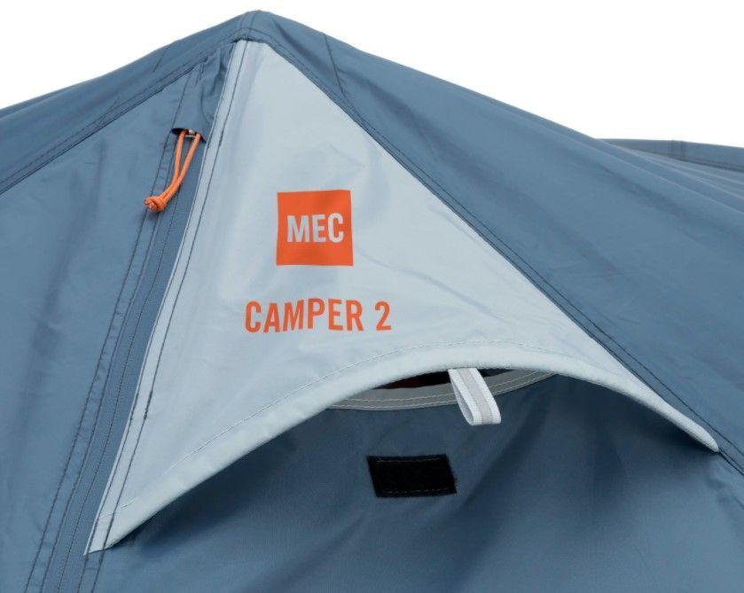 MEC Camper Tent ventilation pockets