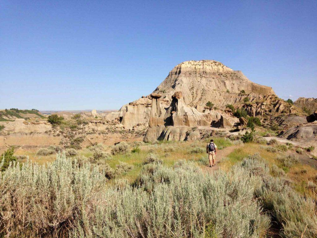 camping in montana: Makoshika State Park