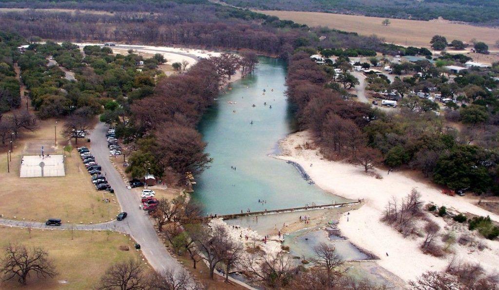 Camping in Texas: garner state park