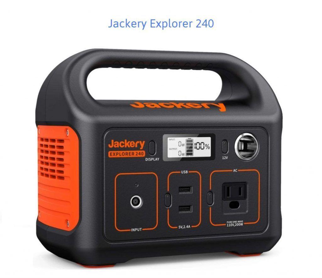 Jackery Explorer 240 Review Close up