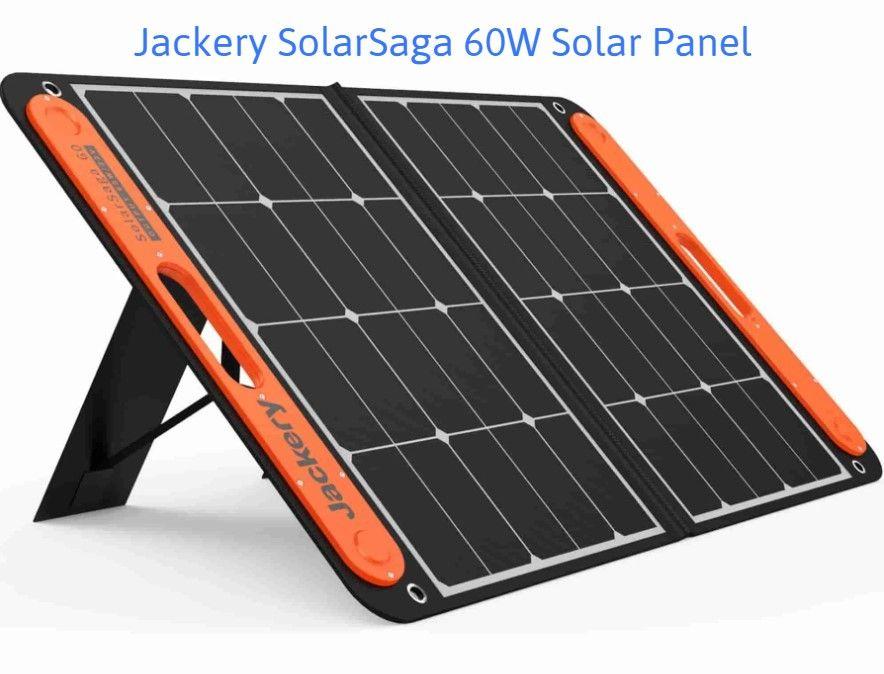 Jackery Explorer 240 Review Solar Saga 60W