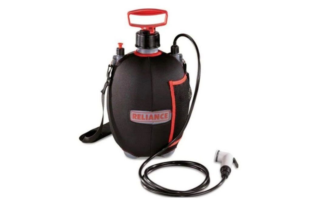 best portable camping showers: Reliance Flow Pro Portable Shower