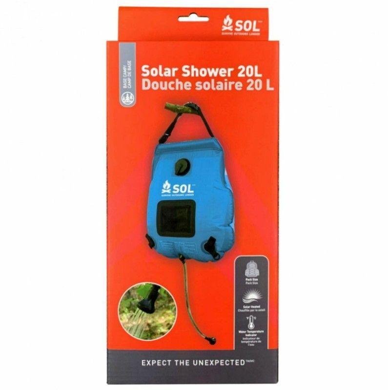 SOL Solar Shower