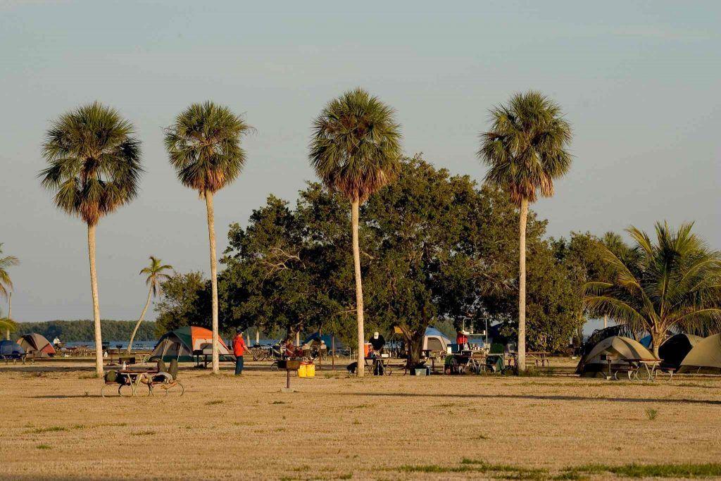 Flamingo Campground - rv camping around everglades national park
