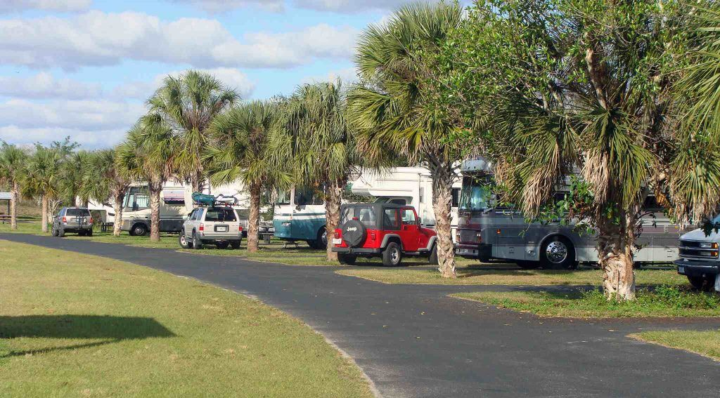 Midway Campground - rv camping around everglades national park
