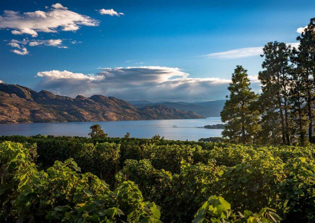 Kelowna RV camping - stunning views of Okanagan Valley