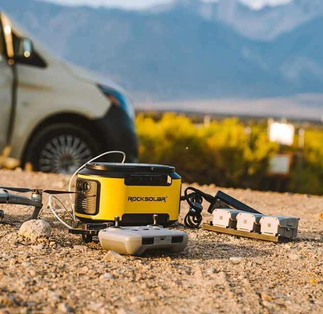 Rocksolar Ready 200W review - charging your devices