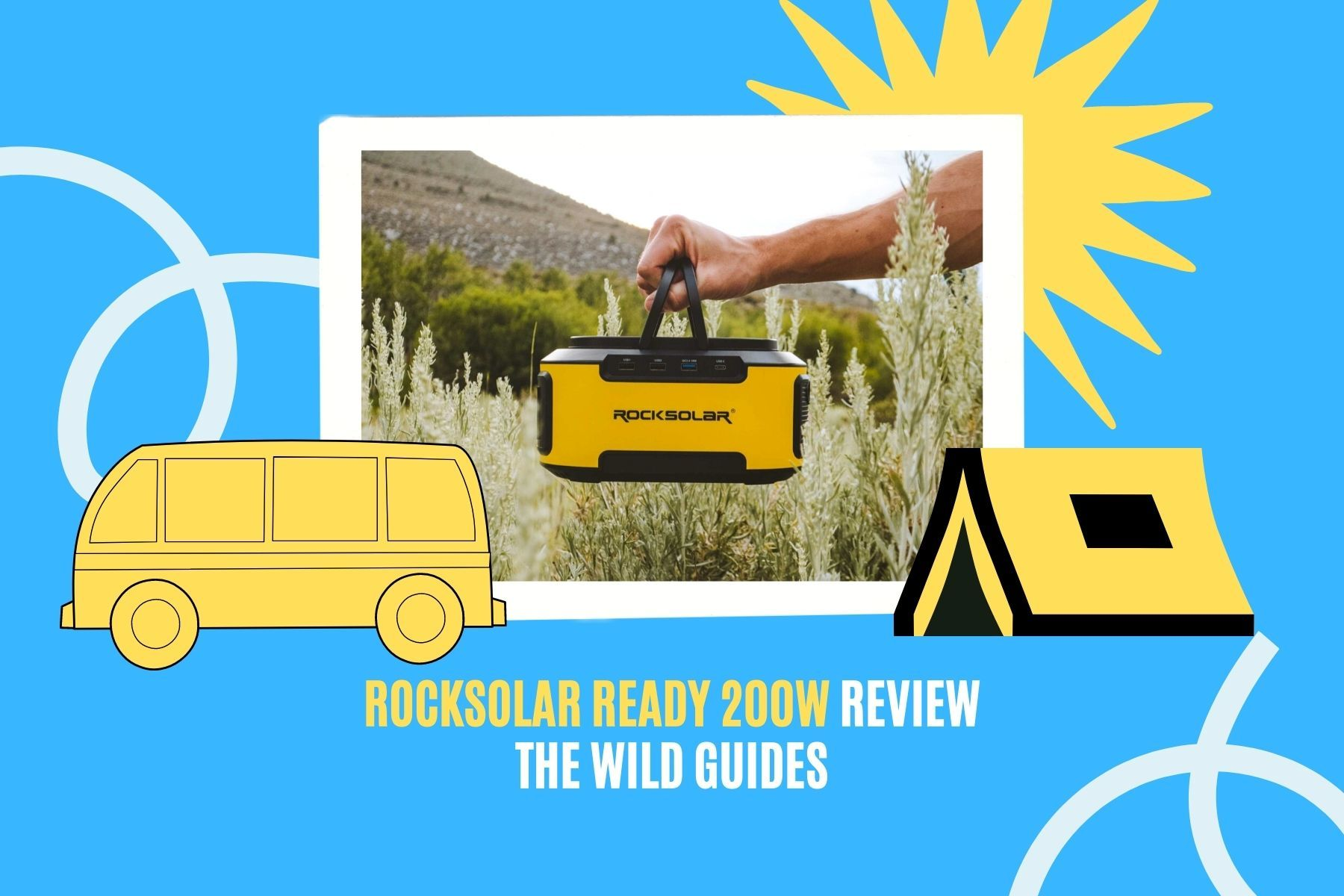 Rocksolar Ready 200W Review: A Lightweight and Reliable Power Station