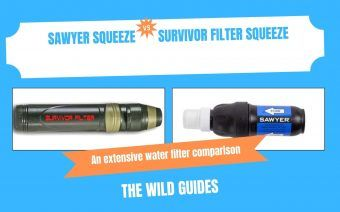 Sawyer Squeeze Vs Survivor Filter Squeeze – Which One Should You Buy