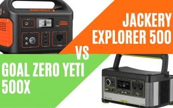 Jackery Explorer 500 Vs Goal Zero Yeti 500X: This Should be Your Pick